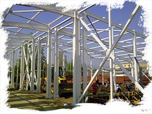 Firma DDAO Steel Protection ofera servicii de termoprotectie hale metalice, structuri industriale